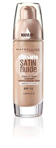 Gemey-Maybelline - Dream Satin Fluide - Fond de teint liquide - 40 cannelle - 30 ml