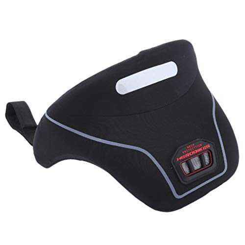 D DOLITY Motorrad Nackenstütze Einstellbarer Befestigungsgurt Schaumstoff mit hoher Dichte für Motorrad-Motocross-Rennen