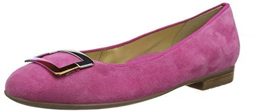 ARA Damen Sardinia 1231332 Geschlossene Ballerinas Rot (Pink 07) 42 EU
