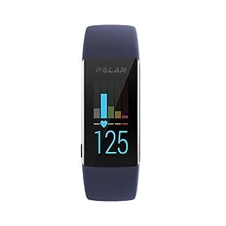 Polar A370 Reloj de fitness con GPS conectado y Frecuencia cardíaca en la muñeca. Actividad 24/7 – Azul, M/L