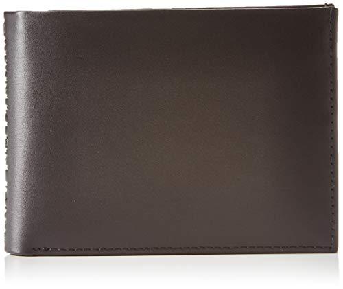 Calvin Klein Herren Logo Pop Billfold W/Coin Schultertasche, Schwarz (Infinite Black), 2x12.5x9.5cm