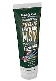 NATURE'S PLUS - CREAM + Glucosamin + MSM 11 withdr (Rx-joint Natures Plus Ultra)
