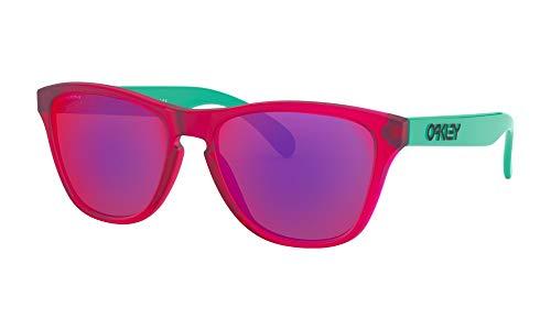 Ray-Ban Herren 0OJ9006 Sonnenbrille, Schwarz (Matte Translucent Crystal Pink), 53
