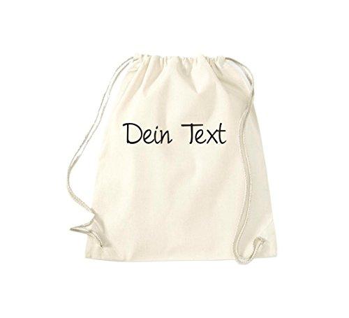 Shirtstown sac de sport réglable avec votre texte, accompagné de couleurs Beige - Neutre