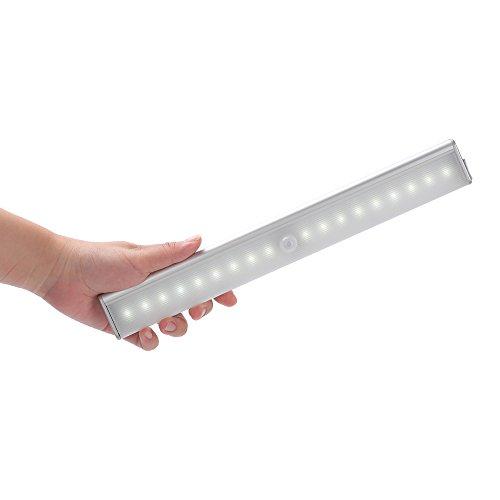 Luce Wireless,Foneso Lampada da Armadio PIR Sensore di Movimento a
