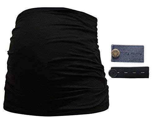Bauchband Bauchbinde mit s/ü/ßem Motiv in schwarz 212