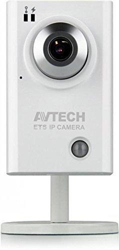 AVTech leicht HD IP Kamera mit Echthaar Detektor Sensor & Mikrofon/PoE (Kamera-mikrofon-detektor)