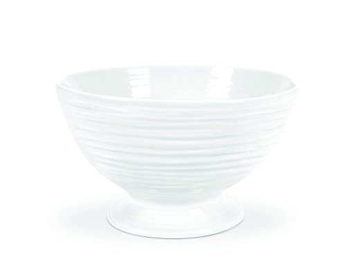 Portmeirion Sophie Conran White Footed Bowl by Portmeirion White-footed Bowl
