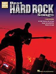 Hal Leonard Best Hard Rock Songs (einfache Gitarre mit Noten und Tab)