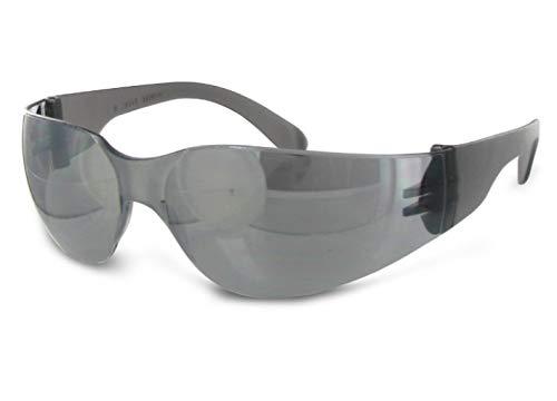 Mirage Grau Schwarz Verspiegelt Sonnenbrille Herren Damen UV400 Anti UV & Blaulicht Stoßfest Kratzfest Spiegel Sportbrille für Laufen Radsport Mountainbike Ski Motorrad Fahren