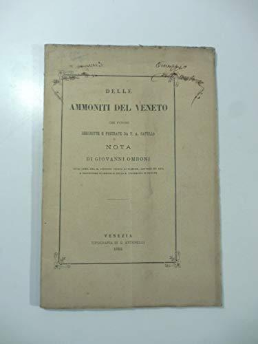 Delle ammoniti del Veneto che furono descritte