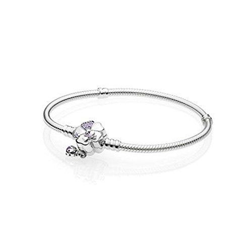 Pandora Damen-Charm-Armbänder 925 Sterlingsilber zirkonia 597124NLC-18