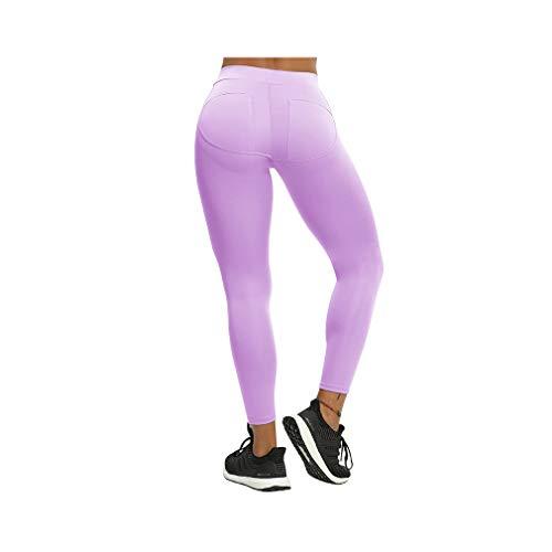 aoliaoyudonggha Women Push Up Activewear Workout Slim Leggings Polyester V-waist Jeggings Pencil Pants Womens Lace Bottom-capri-leggings