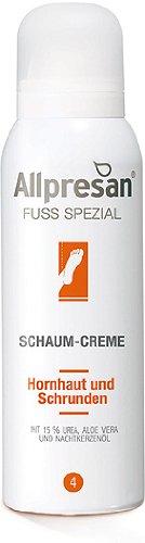 Allpresan Fuß Spezial Nr 4 Schaum-Creme, Hornhaut und Schrunden,125 ml