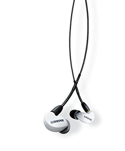Shure SE215SPE-W-UNI-EFS In-Ear Kopfhörer mit passiver Geräuschunterdrückung für iOS & Android - Premium Ohrhörer mit warmem & detailreichem Klang - Special Edition: Weiß thumbnail