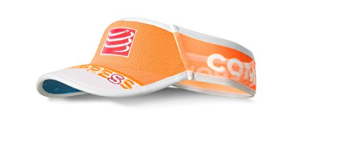 Compressport Ultralight - Visera Unisex, Color Naranja Fluor, Talla única