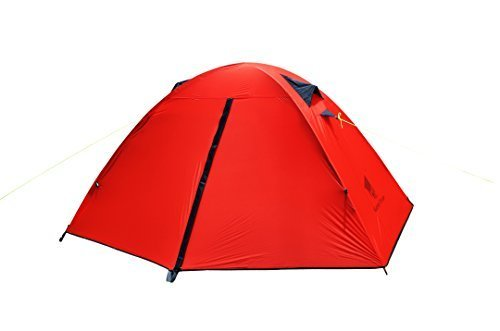 geertop® 1-person 3-4 season 20d lightweight waterproof dome backpacking tent for hiking, camping,travel - easy set up