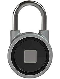 ZRK Candado de Huellas Dactilares Bluetooth Cerradura Inteligente al Aire Libre candado de Equipaje Cerradura almacén