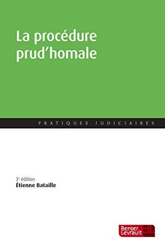 Procedure Prud'Homale 3e ed par Etienne Bataille