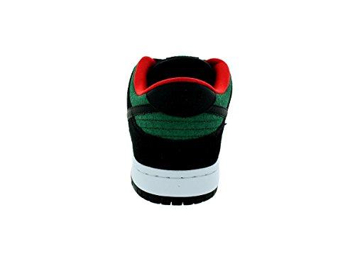 Nike Dunk Low Pro Sb, Chaussures de Skate Homme Noir / vert (noir / noir - vert canyon)