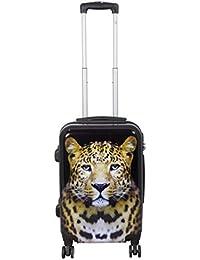 Warenhandel König Valigia Multicolore leopardo m 279edf4897