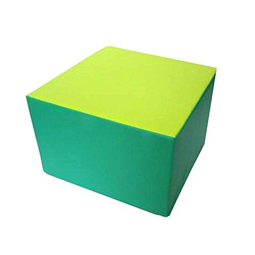 kidunivers–Sitzsack Quadratisch, 60x 60cm aus Schaumstoff für Erwachsene und Kinder ab 8Jahre bisoo