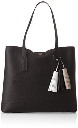 Guess Damen Bags Hobo Schultertasche, Schwarz (Black), 12.5x33.5x39 centimeters (Taschen Guess Schuhe)