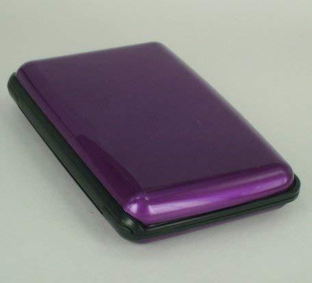Bobopai Aluma Aluminium Purple Wallet Credit Card Holder RFID Blocking (1pcs) Home-cinema-equipment
