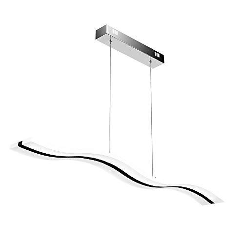 Lampadari,create for life® design moderno ciondolo led luce plafoniera lampadario appeso lampada per vivere contemporaneo sala da pranzo camera da letto del led (40w) (3000k)