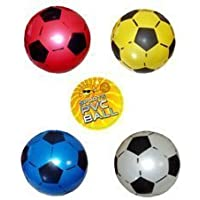 PVC Sports Football, 22.5 cms, uninflated, 4 supplied
