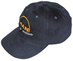 Preisvergleich Produktbild Basecap MAN in motion blau