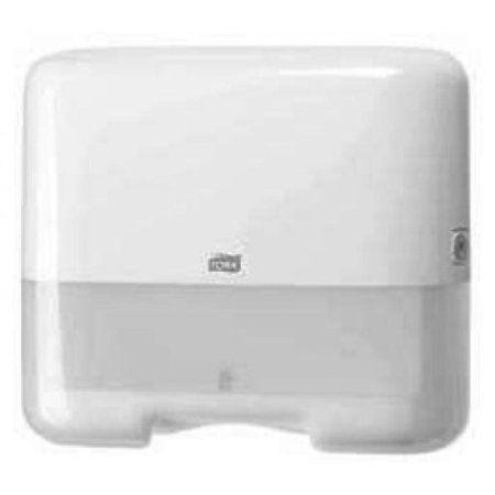 Tork Handtuchspender Elevation 553100 332x291x13mm weiß - Hygieneartikel Spendersysteme Handtuchpapierspender Spender