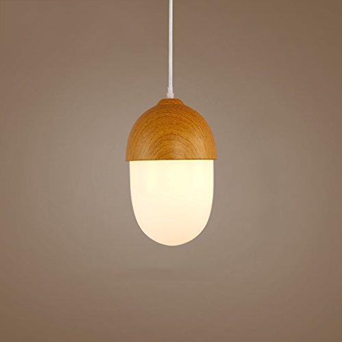 CHHHC @ - scandinavo minimalista creativo ristorante personalità bar caffetteria venature del legno singoli lampadari caldi dadi
