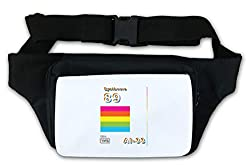 Synthwave Retrowave Retro Oldschool Aesthetic Waist Bag