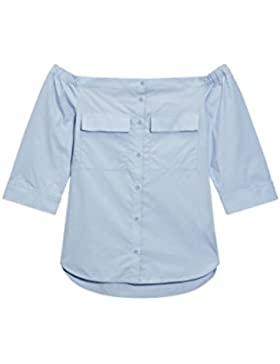 next Mujer Camisa Hombros Descubiertos Regular Ropa