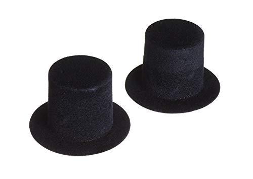 Zylinder, 2 Stück, 3 x 3 cm (Mini Top Hat)