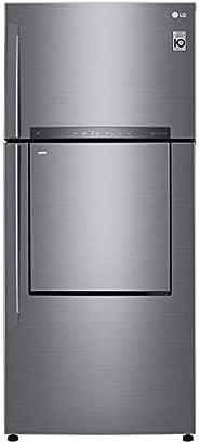 LG 549 Liters Top Mount Refrigerator with Linear Inverter Compressor, Door In Door, Hygiene Fresh Plus Technol