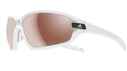 Adidas - EVIL EYE EVO S A419, Sportbrille, allgemein, Herrenbrillen, MATTE WHITE/LST ACTIVE SILVER cat.3(6060 X)