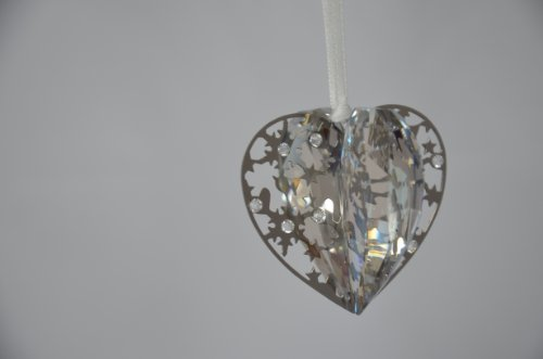 Swarovski Weihnachtsornament Herz Crystal Golden Shadow Christmas Ornament Heart 1140005 AP 2013
