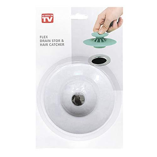 Mimiga Silikon Spülbecken Stopper Filter Ablassstopfen Reiniger Reinigungswerkzeug Wanne Ablassschraube Für Küchen Bäder Wäschereien