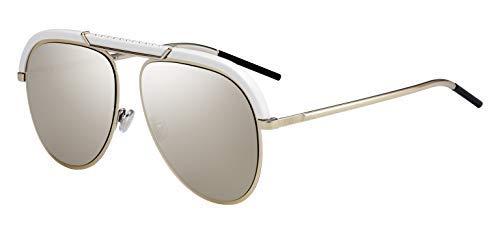 Christian Dior Damen Sonnenbrille Weiß gold ivory/grey gold 62