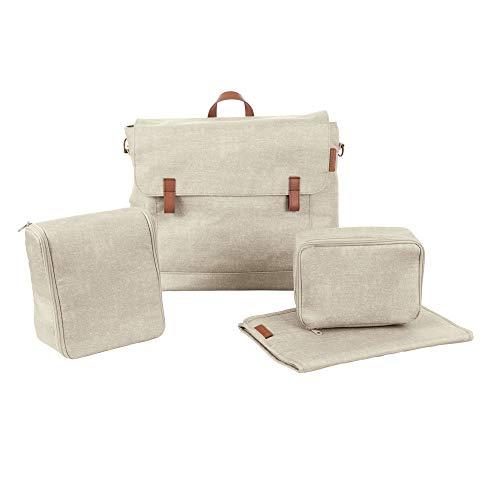 Maxi Cosi Modern Bagpraktische Wickeltasche mit vielen extras, Thermobox, Wickelunterlage, Thermobox, Kulturtasche, Baby-Tasche, Windel-Tasche, beige