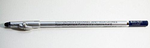 Pink Paris - Liner Precision - Crayon Professionnel 2 en 1 Yeux Lèvres - Bleu Nuit