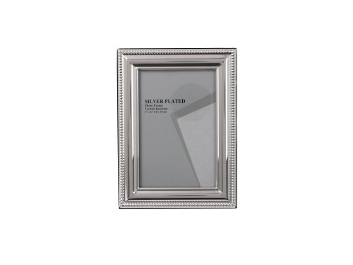 Evergreen eg-bead-46 - cornice, placcato in argento, 10 x 15 cm