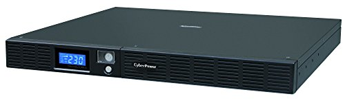 CYBERPOWER OR1000ELCDRM1U 1000VA/600W Green Power USB 24M Garantie VorabAustauschservice dt.Software dt.Support SNMP Slot (Usb Cyberpower Usv)
