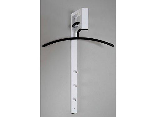 Haku Möbel Wandgarderobe - Garderobenständer in Weiß, Höhe 70 cm