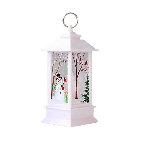 Ronamick - Lámpara de aceite vintage con vela LED de Navidad con...