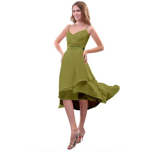 Lemandy - Robe -  Femme Custom-made Size Vert