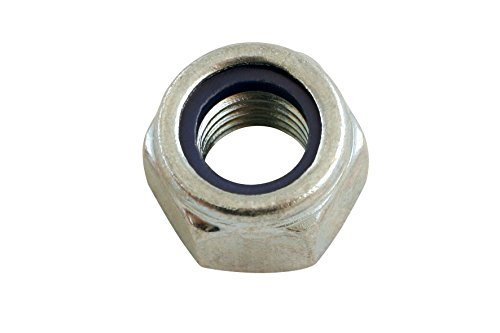Connect 31357 Nyloc métriques Écrous en acier (Pack de 100)