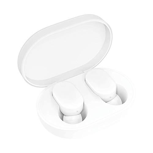 Xiaomi Mi True Wireless Earbuds Bluetooth In-Ear Kopfhöhrer für iOS/Android (Freisprechfunktion, Musiksteuerung per Touch, Sprachassistent, 4Std Wiedergabezeit, Aufbewahrungsbox mit Ladefunktion) Weiß thumbnail